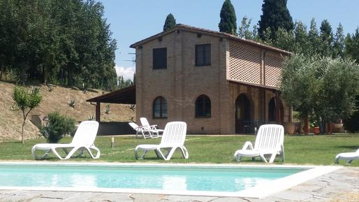 Gemütliches Ferienhaus : Region Siena für 4 Personen