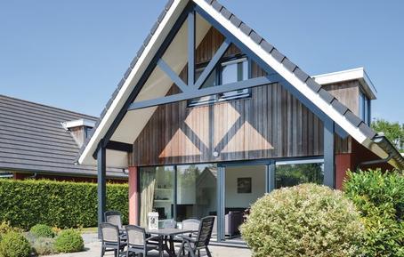 Gemütliches Ferienhaus : Region Ijsselmeer für 8 Personen