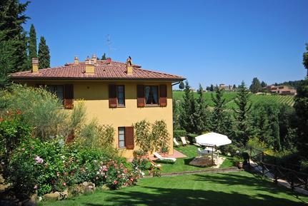 Für 5 Personen: Hübsches Apartment / Ferienwohnung in der Region Barberino Val d'Elsa
