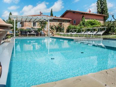 Gemütliches Ferienhaus : Region San Giustino Valdarno für 12 Personen