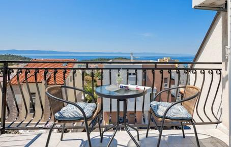Für 2 Personen: Hübsches Apartment / Ferienwohnung in der Region Makarska Riviera