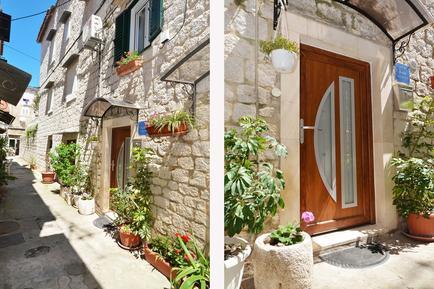 Für 7 Personen: Hübsches Apartment / Ferienwohnung in der Region Trogir