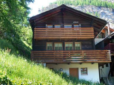 Gemütliches Ferienhaus : Region Zermatt für 4 Personen