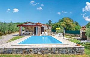 Gemütliches Ferienhaus : Region Rovinj für 6 Personen