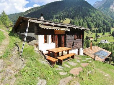 Gemütliches Ferienhaus : Region Wallis für 4 Personen