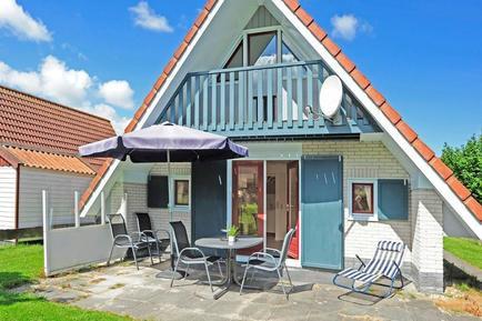 Gemütliches Ferienhaus : Region Waddenzee (Wattenmeer) für 4 Personen