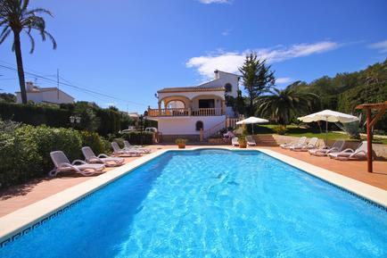 Gemütliches Ferienhaus : Region Costa-Blanca für 16 Personen