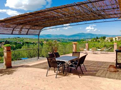Gemütliches Ferienhaus : Region Impruneta für 5 Personen