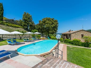 Gemütliches Ferienhaus : Region Volterra für 4 Personen