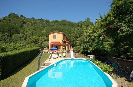 Für 8 Personen: Hübsches Apartment / Ferienwohnung in der Region Pescaglia