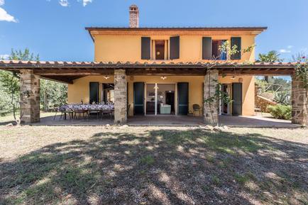 Gemütliches Ferienhaus : Region Toskana für 13 Personen