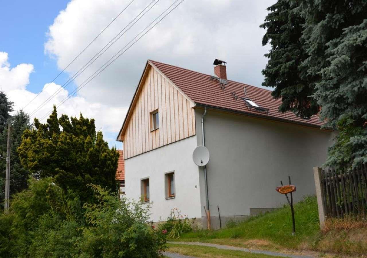 Ruhig gelegenes Bauernhaus in der sächsischen  in Sachsen