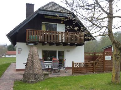 Gemütliches Ferienhaus : Region Hessen für 8 Personen