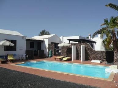 Gemütliches Ferienhaus : Region Lanzarote für 8 Personen