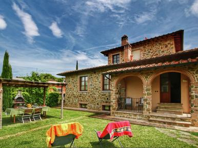 Für 4 Personen: Hübsches Apartment / Ferienwohnung in der Region Toskana
