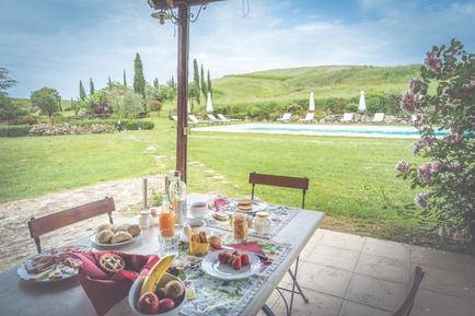 Gemütliches Ferienhaus : Region Toskana für 17 Personen