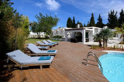 Gemütliches Ferienhaus : Region Ibiza für 8 Personen
