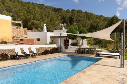 Gemütliches Ferienhaus : Region Ibiza für 7 Personen