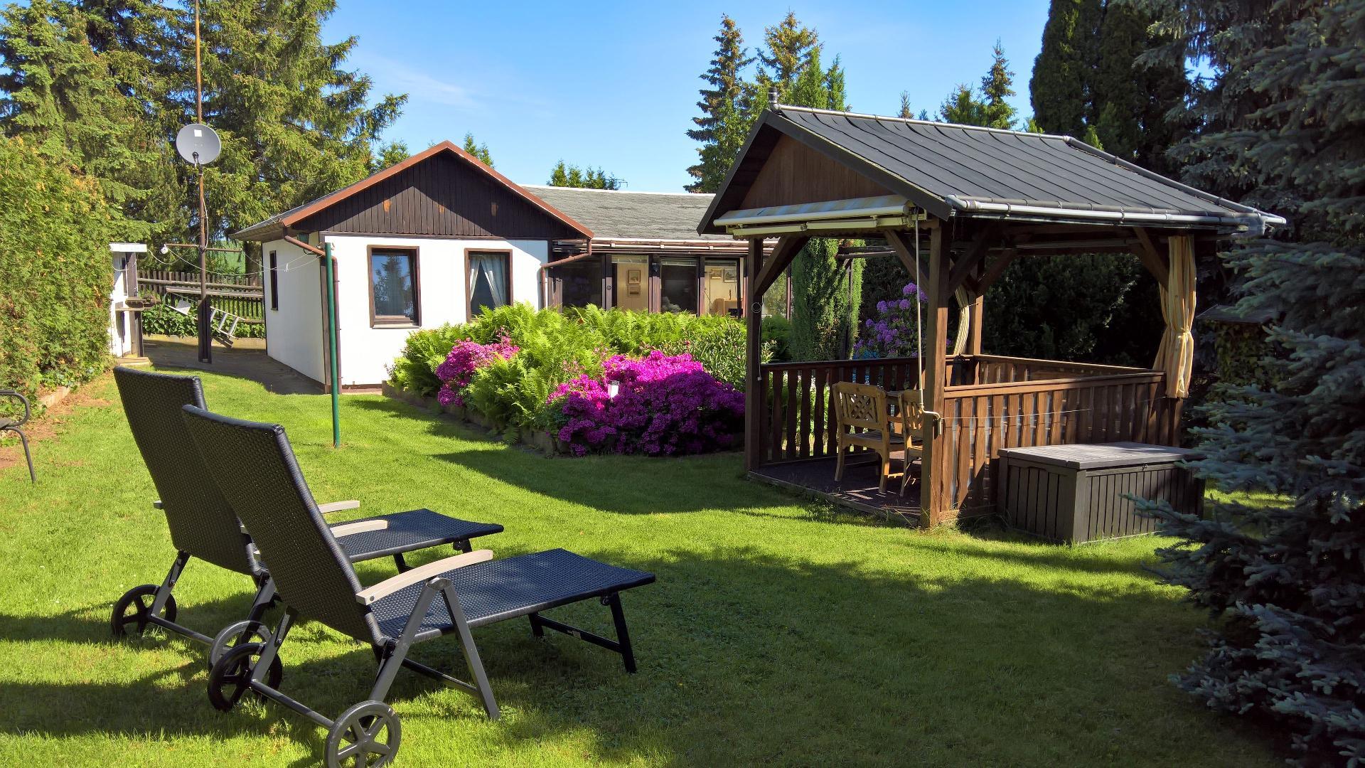 Ferienhaus mit Privatpool für 2 Personen ca.   in Sachsen