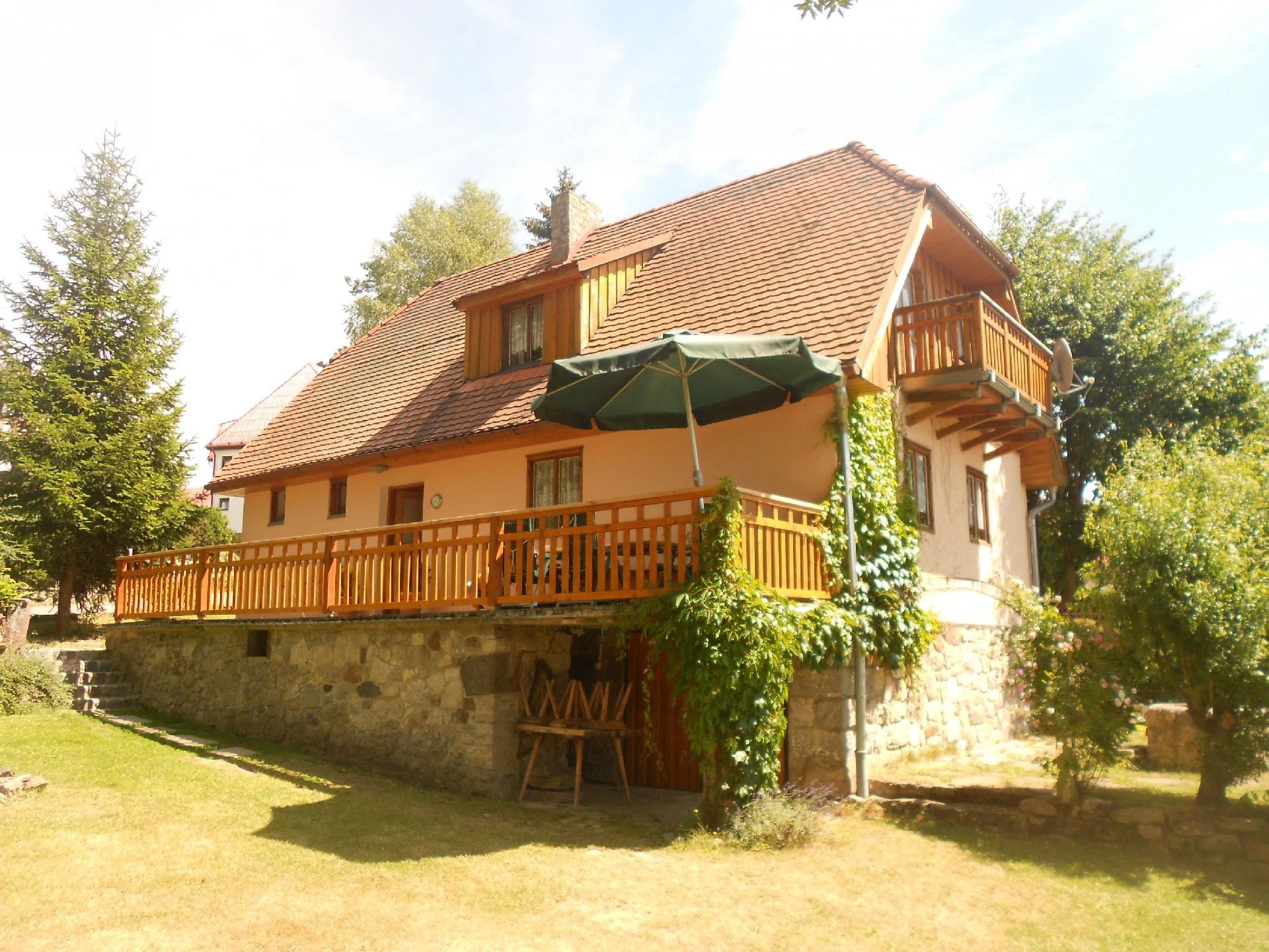 Ferienhaus für 8 Personen ca 180 m² in Hrdonov Böhmen Moldau