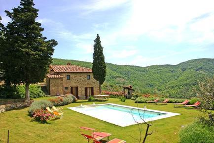 Gemütliches Ferienhaus : Region Arezzo für 12 Personen