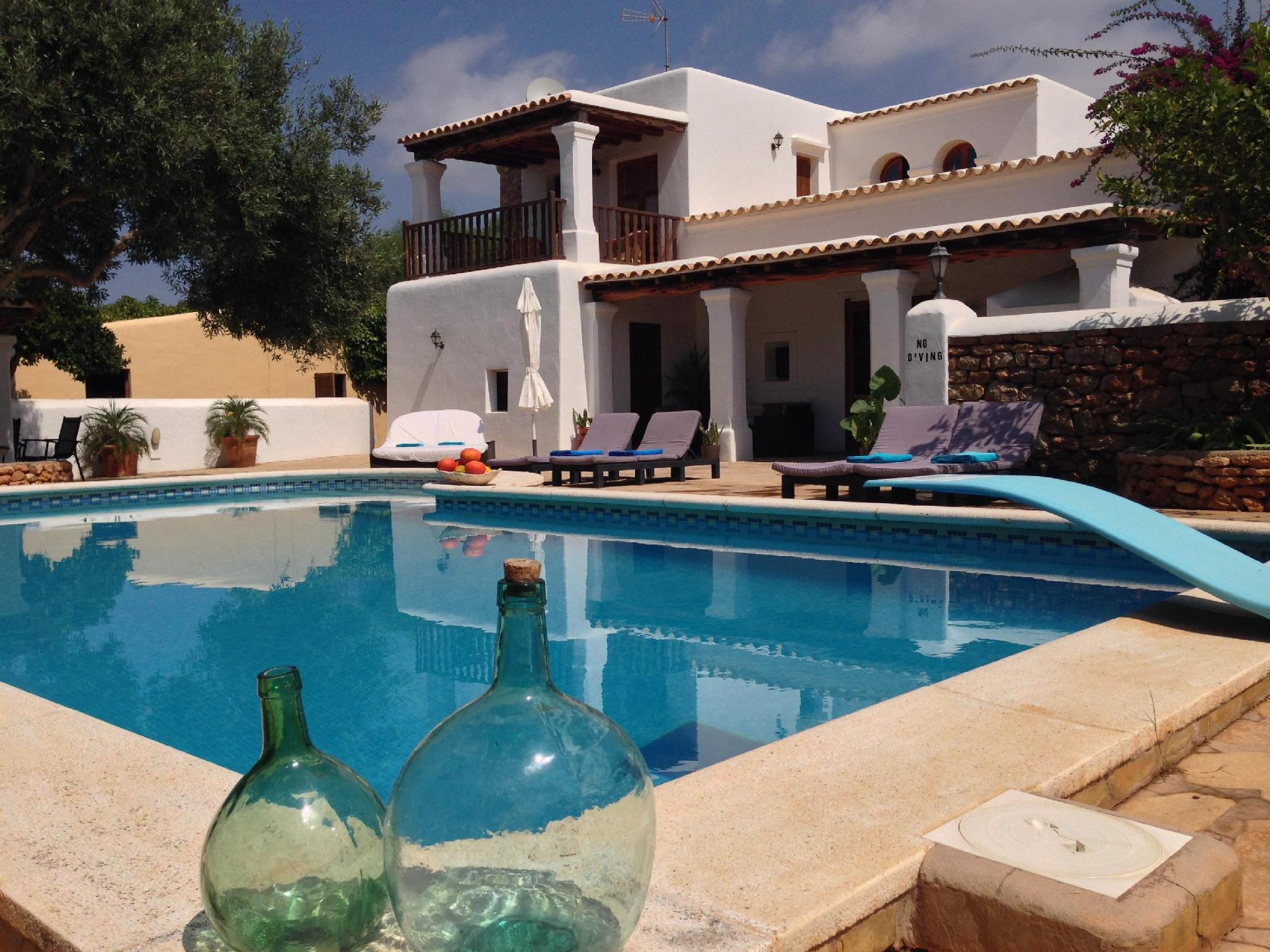 Ferienhaus mit Privatpool für 8 Personen ca 300 m² in Sant Carles de Peralta Ibiza Binnenland von Ibiza