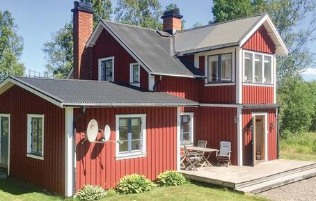 Gemütliches Ferienhaus : Region Mittelschweden für 8 Personen