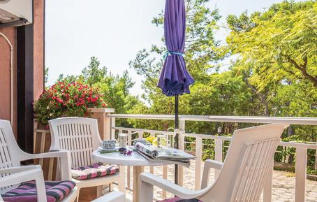 Für 6 Personen: Hübsches Apartment / Ferienwohnung in der Region Makarska
