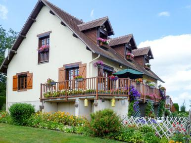 Gemütliches Ferienhaus : Region Normandie für 8 Personen