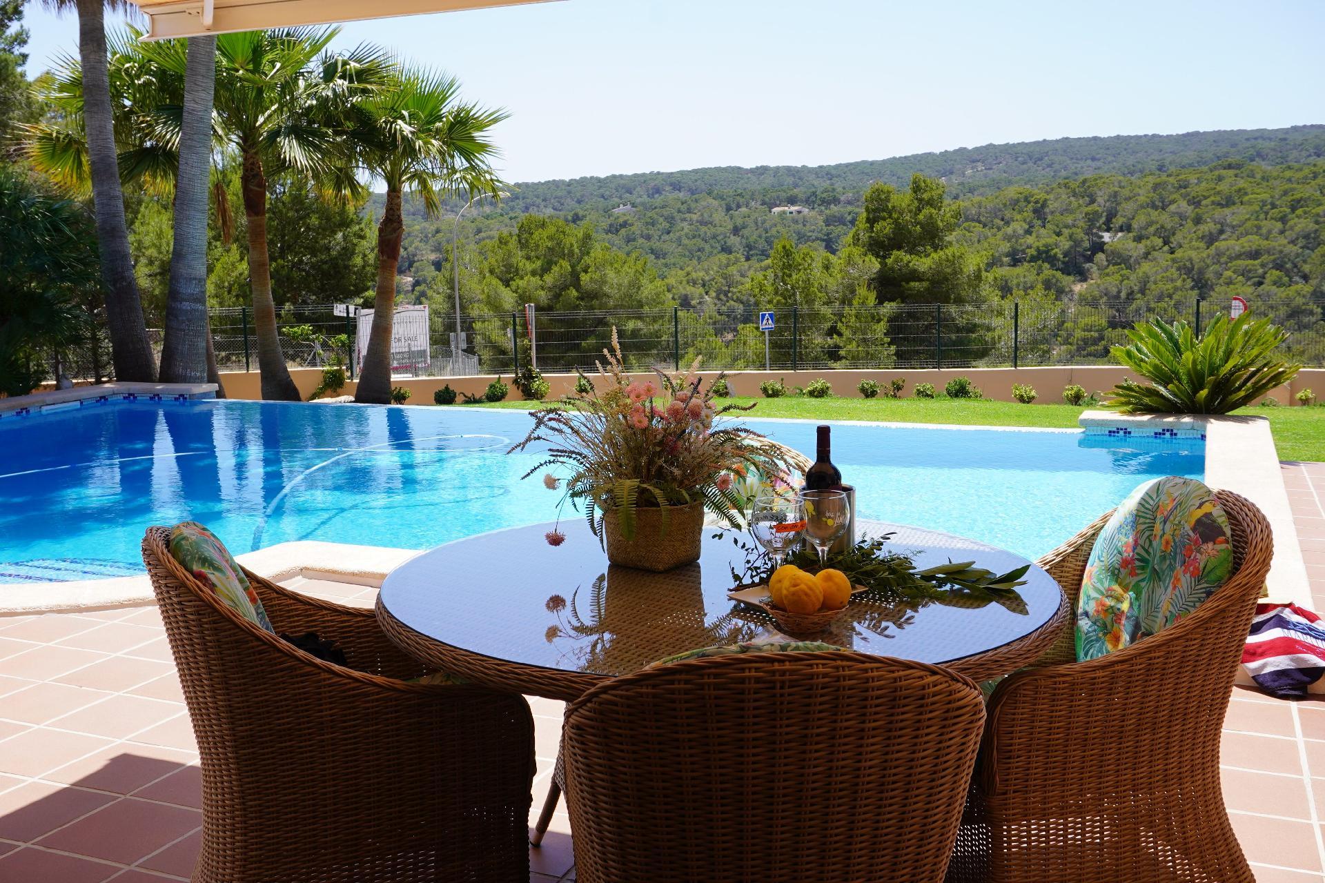 Ferienhaus mit Privatpool für 6 Personen 2 Kinder ca 250 m² in Sol de Mallorca Mallorca Südwestküste von Mallorca