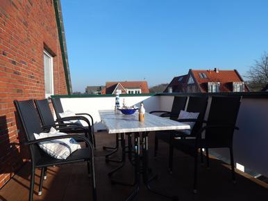 Für 8 Personen: Hübsches Apartment / Ferienwohnung in der Region Borkum