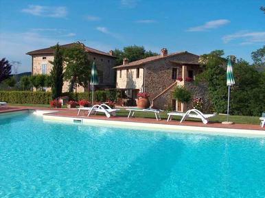 Für 6 Personen: Hübsches Apartment / Ferienwohnung in der Region Pievescola