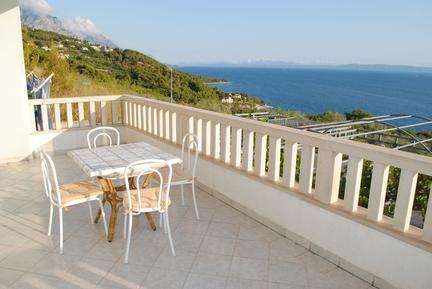 Für 3 Personen: Hübsches Apartment / Ferienwohnung in der Region Brela