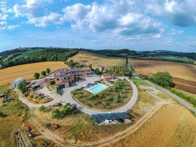Für 3 Personen: Hübsches Apartment / Ferienwohnung in der Region Asciano