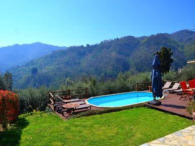 Gemütliches Ferienhaus : Region Borgo a Mozzano für 6 Personen