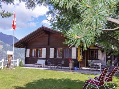 Gemütliches Ferienhaus : Region Wallis für 2 Personen