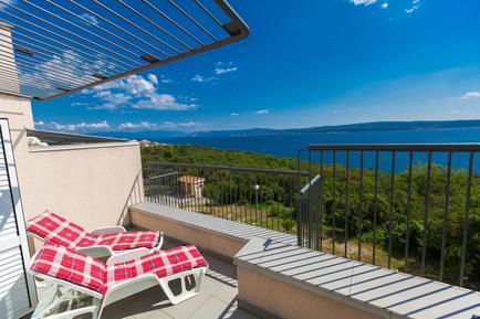 Für 4 Personen: Hübsches Apartment / Ferienwohnung in der Region Primorje-Gorski