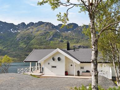 Gemütliches Ferienhaus : Region Nordland für 8 Personen