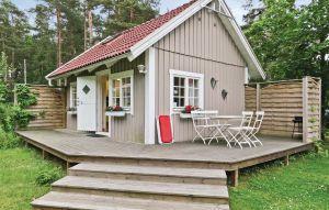 Gemütliches Ferienhaus : Region Öland für 4 Personen