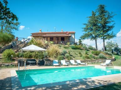 Gemütliches Ferienhaus : Region Seggiano für 8 Personen