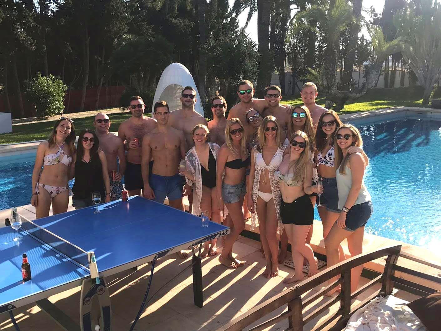 Ferienhaus mit Privatpool für 30 Personen ca.  in Spanien