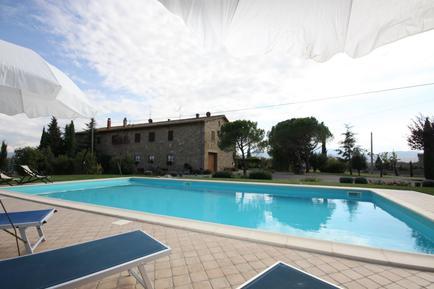 Gemütliches Ferienhaus : Region Pienza für 10 Personen