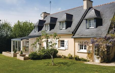 Gemütliches Ferienhaus : Region La Forêt-Fouesnant für 8 Personen