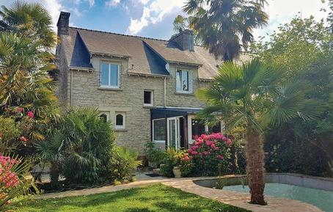 Gemütliches Ferienhaus : Region Bretagne für 10 Personen