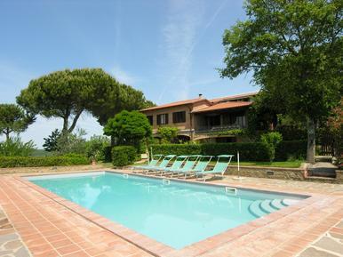 Gemütliches Ferienhaus : Region Castelnuovo Berardenga für 10 Personen