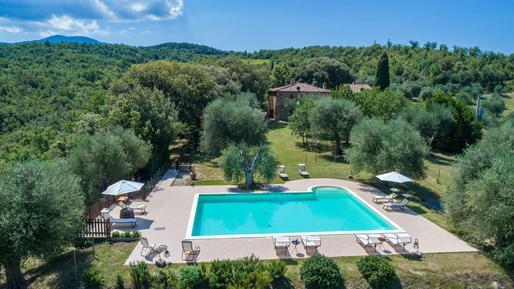 Für 10 Personen: Hübsches Apartment / Ferienwohnung in der Region Seggiano