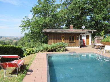 Gemütliches Ferienhaus : Region Rhön für 4 Personen