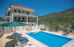 Gemütliches Ferienhaus : Region Dalmatien für 10 Personen