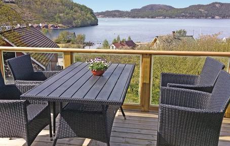 Gemütliches Ferienhaus : Region Rogaland für 6 Personen