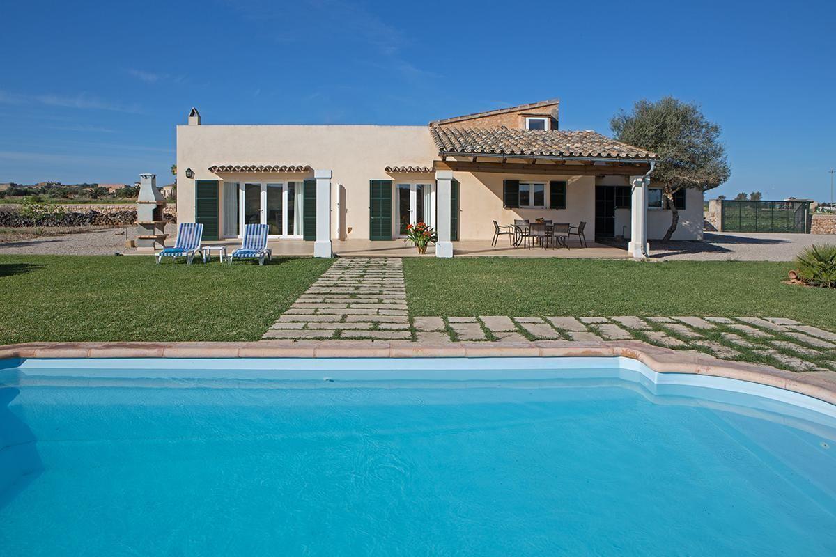 Ferienhaus mit Privatpool für 5 Personen 2 Kinder ca 150 m² in Campos Mallorca Südküste von Mallorca